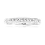 Diamond Antique Style Platinum Ring