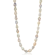 Multi-Colored Freshwater Baroque Pearl Necklace