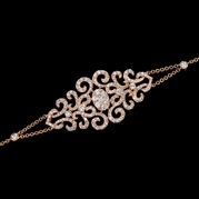 Diamond 18k Rose Gold Bracelet