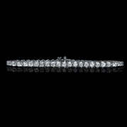 Diamond 14k White Gold Tennis Bracelet