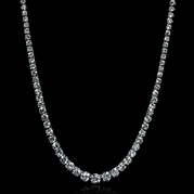 GIA Certified Platinum Necklace