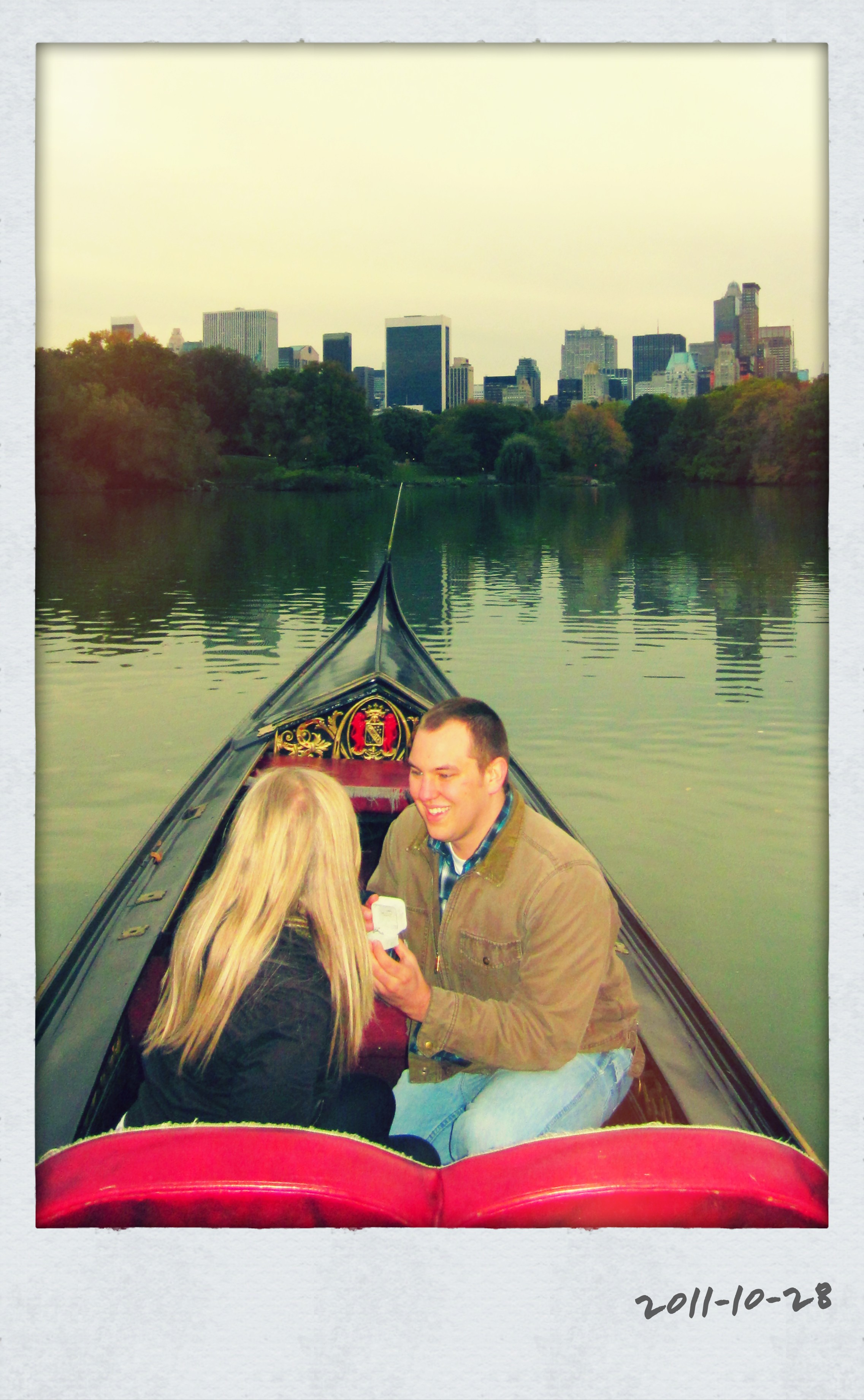 Engagement Proposal at Central Park New York