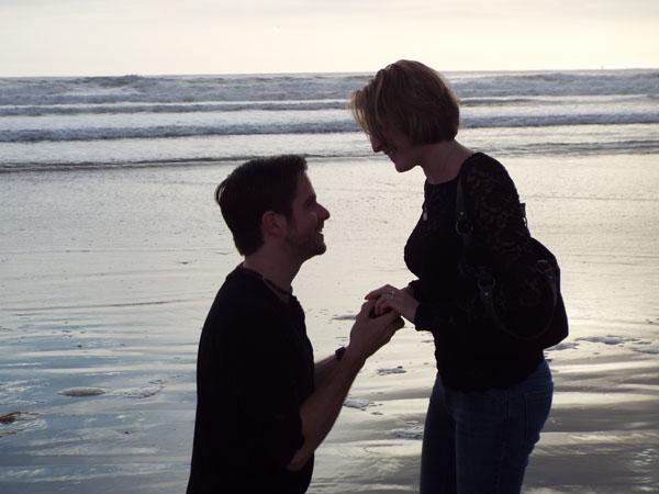 Proposal on beach