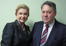 Firenze Jewels's Jeff Levin Meets with Congresswoman Maloney to Improve the Diamond District