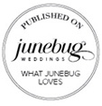 As Featured on JuneBug Weddings