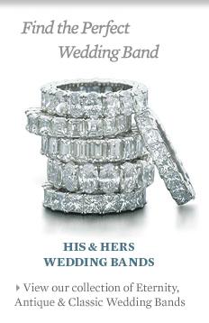 diamond wedding bands - Wedding Rings Nyc