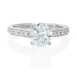 .17ct Diamond Platinum Engagement Ring Setting