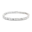 8.58ct Diamond 18k White Gold Tennis Bracelet