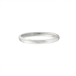 14k White Gold Comfort Fit Wedding Band Ring