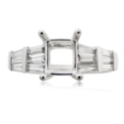 .56ct Diamond Platinum Engagement Ring Setting