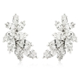 6.53ct Diamond 18k White Gold Earrings