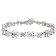 8.83ct Diamond 18k White Gold Bracelet