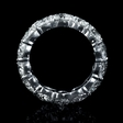 11.72ct Diamond Platinum Eternity Wedding Band Ring