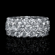 9.35ct Diamond Platinum Eternity Wedding Band Ring