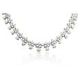 19.66ct Diamond and Platinum Necklace