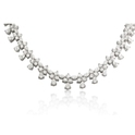 Diamond and Platinum Necklace