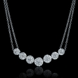 2.03ct Diamond 18k White Gold Necklace