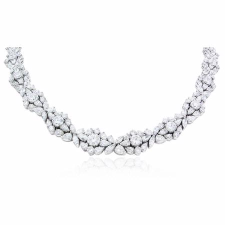 Diamond 18k White Gold Necklace