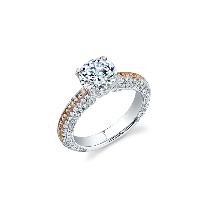 three from stone engagement lovis diamond gold rings image susannah ring