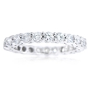 Diamond Platinum Eternity Wedding Band Band