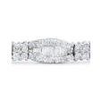 4.07ct Diamond 18k White Gold Bracelet