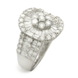 2.34ct Diamond 18k White Gold Ring