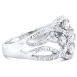 1.22ct Diamond 18k White Gold Ring