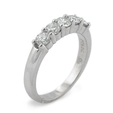 .76ct Diamond Platinum Wedding Band Ring
