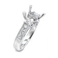 .54ct Diamond Antique Style Platinum Engagement Ring Setting