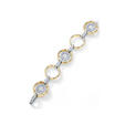 .88ct Simon G Diamond 18k Two Tone Gold Bracelet