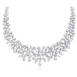 29.59ct Diamond Platinum Necklace