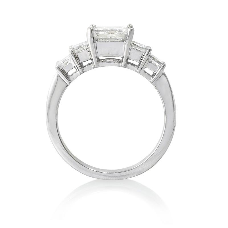 60ct Diamond Platinum Engagement Ring Setting
