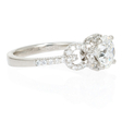.35ct Diamond Platinum Engagement Ring Setting