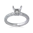 .66ct Diamond Platinum Engagement Ring Setting