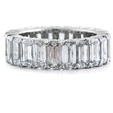 8.07ct Christopher Designs Diamond Platinum Eternity Wedding Band Ring