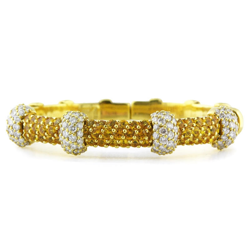 gold bracelet yellow smooth fashion filled jewelry bangle arrive item bangles