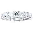 3.21ct Diamond Platinum Eternity Wedding Band Ring