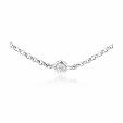 .53ct Diamonds by The Yard 18k White Gold Necklace