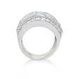4.31ct Diamond 18k White Gold Ring