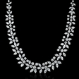 31.18ct Diamond and Platinum Necklace