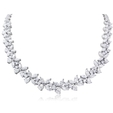 20.60ct Diamond and Platinum Necklace