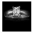 1.02ct Christopher Designs Diamond 18k White Gold Engagement Ring Setting