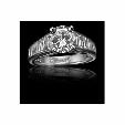 1.87ct Christopher Designs Diamond Platinum Engagement Ring Setting