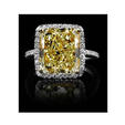 .25ct Christopher Designs Diamond Platinum and 18k Yellow Gold Halo Engagement Ring Setting
