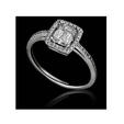 .25ct Christopher Designs Diamond 18k White Gold Engagement Ring Setting