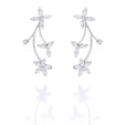 2.00ct Diamond 18k White Gold Earrings