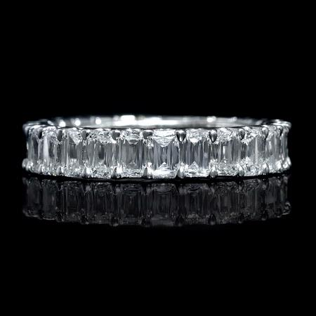 Christopher Designs Diamond Platinum Eternity Wedding Band Ring