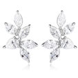 2.33ct Diamond 18k White Gold Earrings