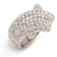 1.85ct Garavelli Diamond 18k White Gold Ring