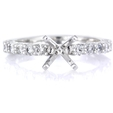 .51ct Diamond Platinum Engagement Ring Setting